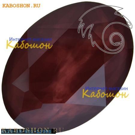 Кристалл Swarovski (Сваровски) Oval Fancy stone 18х13 мм Crystal Dark Red