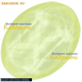 Swarovski Oval Fancy stone 18х13 мм Powder Yellow