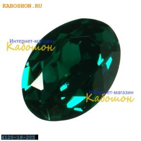 Swarovski Oval Fancy stone 18x13 мм Emerald