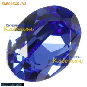 Swarovski Oval Fancy stone 18x13 мм Sapphire