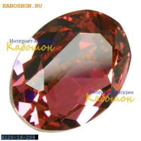 Swarovski Oval Fancy stone 18x13 мм Rose