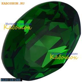 Swarovski Fancy stone 18x13 мм Dark Moss Green