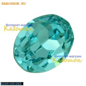 Swarovski Fancy stone 18x13 мм Lt.Turquoise
