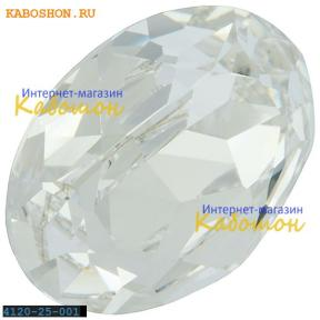 Swarovski Fancy stone 25х18 мм Crystal