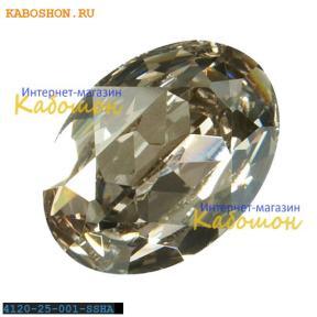 Swarovski Fancy stone 25x18 мм Crystal Silver Shade