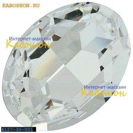 Swarovski Fancy stone 30х22 мм Crystal