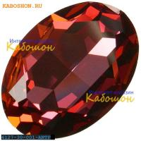 Swarovski Fancy stone 30x22 мм Crystal Antique Pink