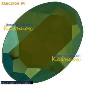 Swarovski Fancy stone 30х22 мм Crystal Iridescent Green