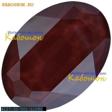 Swarovski Oval Fancy stone 30х22 мм Crystal Dark Red