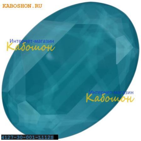 Swarovski Oval Fancy stone 30х22 мм Crystal Azure Blue