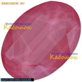 Swarovski Oval Fancy stone 30х22 мм Crystal Peony Pink