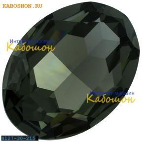 Swarovski Fancy stone 30x22 мм Black Diamond