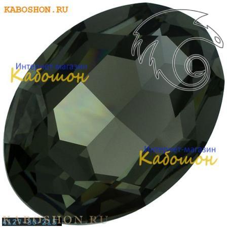 Кристалл Swarovski (Сваровски) Fancy stone 30x22 мм Black Diamond