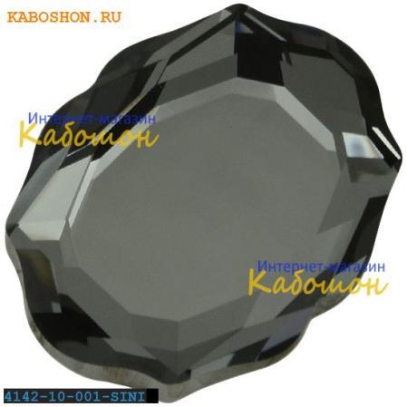 Swarovski 4142 Baroque Mirror 10х8 мм Crystal Silver Night