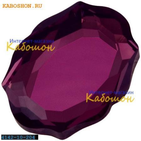 Swarovski 4142 Baroque Mirror 10х8 мм Amethyst