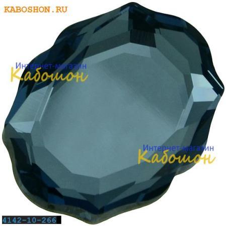 Swarovski 4142 Baroque Mirror 10х8 мм Denim Blue