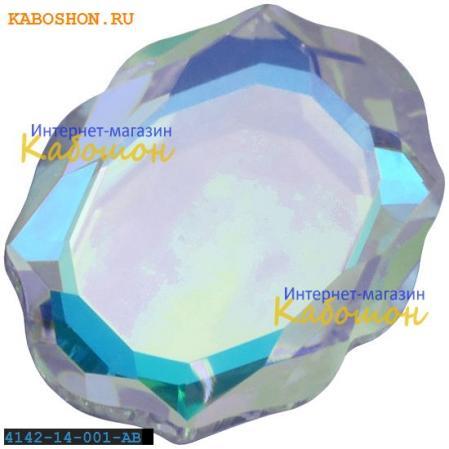 Swarovski 4142 Baroque Mirror 14х11 мм Crystal AB