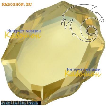 Кристалл Swarovski (Сваровски) 4142 Baroque Mirror 14х11 мм Crystal Golden Shadow