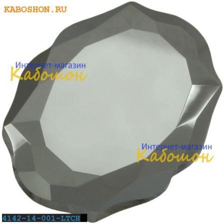 Swarovski 4142 Baroque Mirror 14х11 мм Crystal Light Chrome