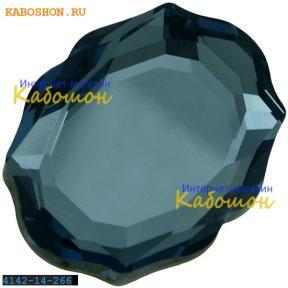 Swarovski 4142 Baroque Mirror 14х11 мм Denim Blue