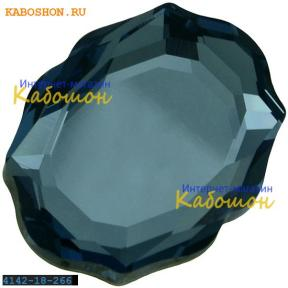 Swarovski 4142 Baroque Mirror 18х14 мм Denim Blue