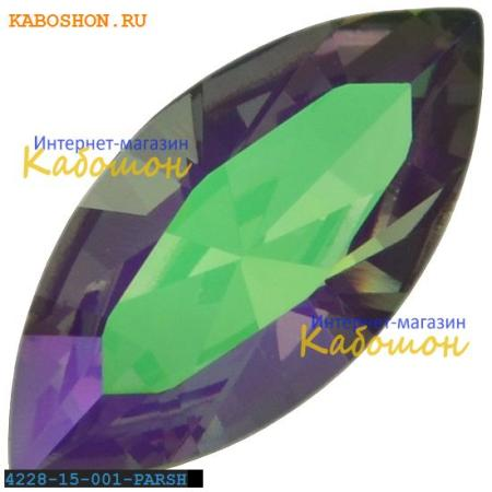 Кристалл Swarovski (Сваровски) Navette Fancy stone 15х7 мм Crystal Paradise Shine