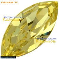 Swarovski Navette Fancy stone 15х7 мм Jonquil