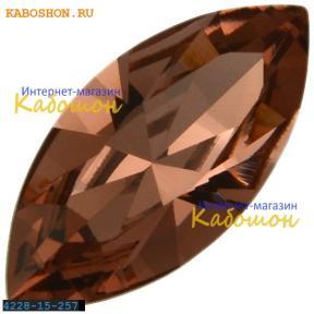 Swarovski Navette Fancy stone 15х7 мм Blush Rose