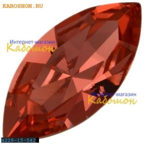 Swarovski Navette Fancy stone 15х7 мм Padparadscha