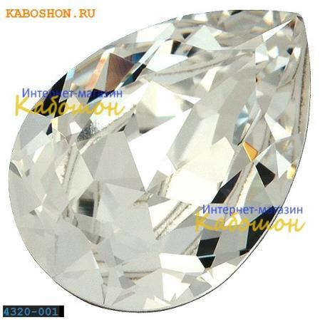 Swarovski Pear Fancy stone 14х10 мм Crystal