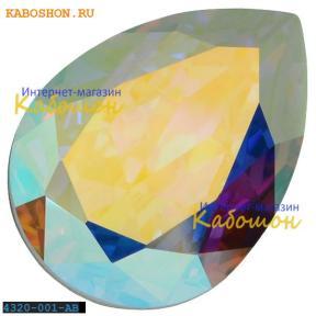 Swarovski Pear Fancy stone 14х10 мм Crystal AB