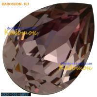 Swarovski Pear Fancy stone 14х10 мм Crystal Antique Pink