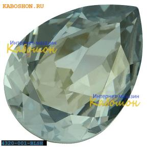 Swarovski Pear Fancy stone 18х13 мм Crystal Blue Shade