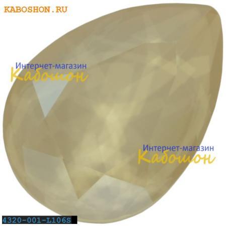 Swarovski Pear Fancy stone 14х10 мм Crystal Ivory Cream