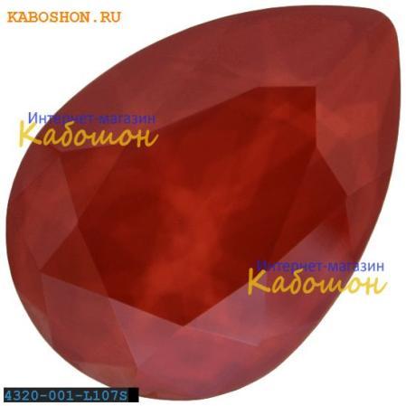 Swarovski Pear Fancy stone 14х10 мм Crystal Royal Red