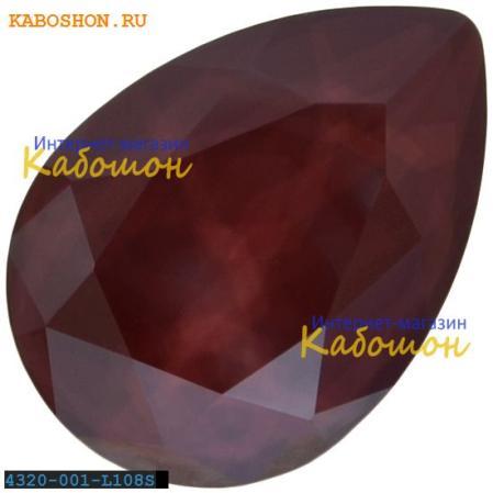 Swarovski Pear Fancy stone 14х10 мм Crystal Dark Red