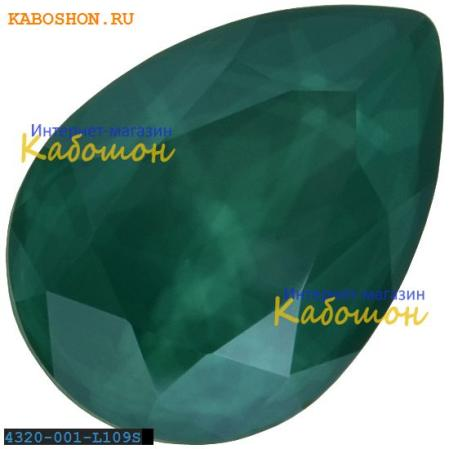 Swarovski Pear Fancy stone 14х10 мм Crystal Royal Green