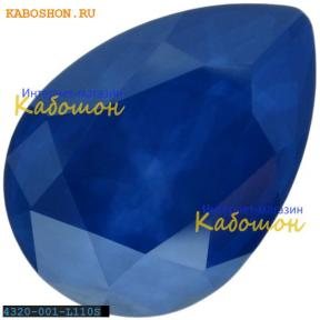 Swarovski Pear Fancy stone 14х10 мм Crystal Royal Blue