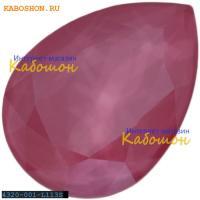 Swarovski Pear Fancy stone 18х13 мм Crystal Peony Pink