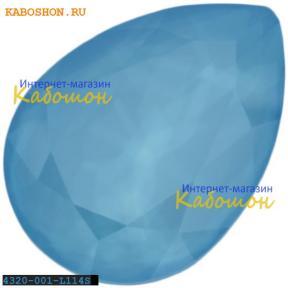 Swarovski Pear Fancy stone 18х13 мм Crystal Summer Blue