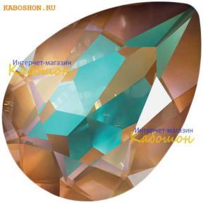 Swarovski Pear Fancy stone 14x10 мм Crystal Cappuccino DeLite