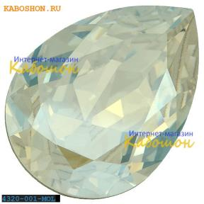 Swarovski Pear Fancy stone 18х13 мм Crystal Moonlight