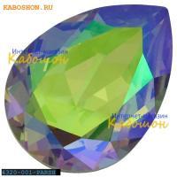 Swarovski Pear Fancy stone 18х13 мм Crystal Paradise Shine
