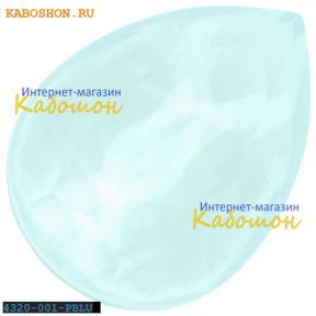 Swarovski Pear Fancy stone 14х10 мм Powder Blue