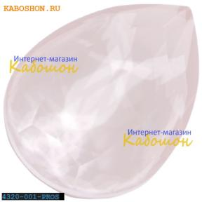 Swarovski Pear Fancy stone 18х13 мм Powder Rose