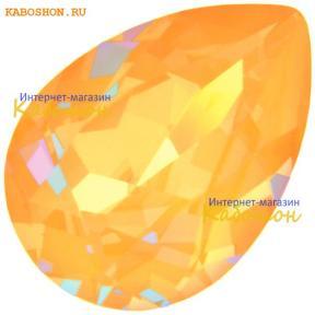 Swarovski Pear Fancy stone 14х10 мм Crystal Peach DeLite