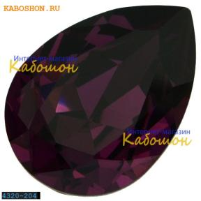 Swarovski Pear Fancy stone 14х10 мм Amethyst