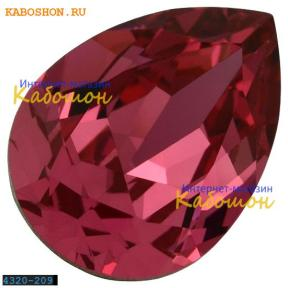 Swarovski Pear Fancy stone 14х10 мм Rose