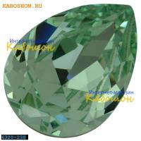 Swarovski Pear Fancy stone 18х13 мм Chrysolite