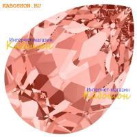 Swarovski Pear Fancy stone 18х13 мм Rose Peach